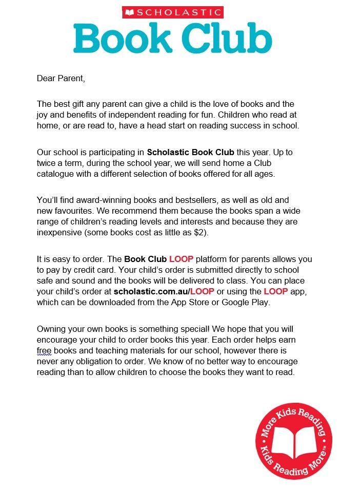Book Club - Quakers Hill Public School